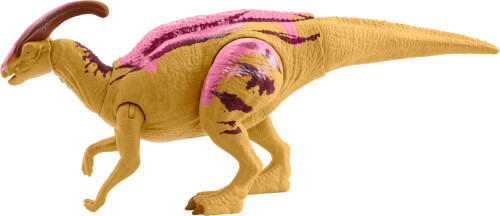 Mattel GMC96 Jurassic World Brüll-Attacke Parasaurolophus