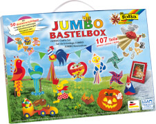 Folia - JUMBO Bastelkoffer 107 teilig