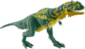 Mattel GMC95 Jurassic World Brüll-Attacke Majungasaurus