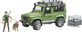 Bruder 2587 Land Rover Defender Station Wagon mit Förster und Hund