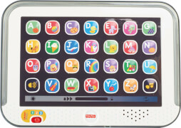 Mattel Fisher Price CDG57 Lernspaß Tablet, grau