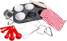 Beeboo Kitchen Spiel-Backset 17-teilig