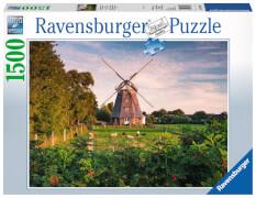 Ravensburger 16223 Puzzle: Windmühle an der Ostsee, 1500 Teile