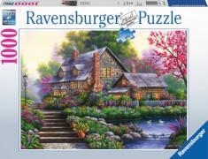 Ravensburger 15184 Puzzle Romantisches Cottage 1000 Teile