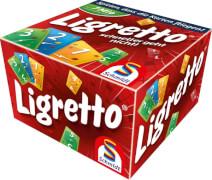 Schmidt Spiele 01301 Ligretto rot, 2 bis 4 Spieler, ab 8 Jahre