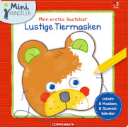 Mein erstes Bastelset: Lustige Tiermasken, Mini-Künstler, ab 3 Jahren
