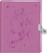 Coppenrath Verlag 94723 Pferdefreunde - Mein Tagebuch, rosa