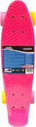 New Sports Kickboard pink, gelb und lila, ABEC 7