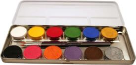 Eulenspiegel 212004 12 Farben Metall-Palette